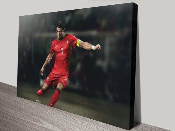 Buy Amazing Ready to Hang Ronaldo Wall Art