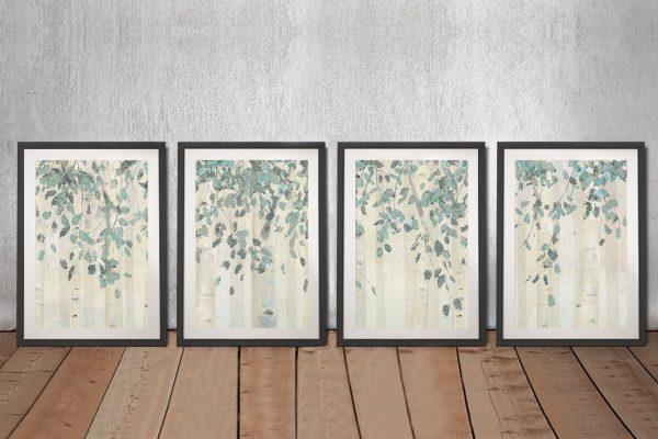 Dream Forest Framed Split Panel Pop Art