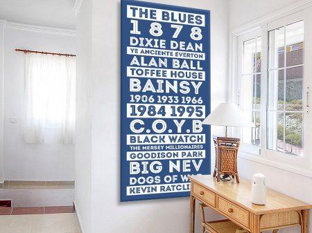 Buy an Everton FC Retro Tram Banner