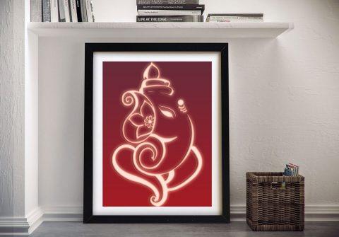 Buy Ready to Hang Ganesha Spiritual Artwork
