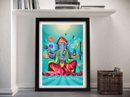 Buy Ganesha Where There is Love Framed Art