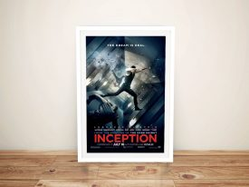 Buy a Framed Inception Movie Poster Print
