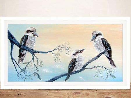 Buy Kookaburra Charm Australian Wall Art