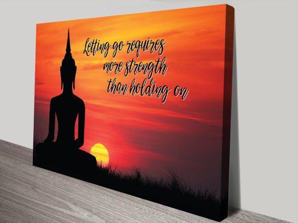 Buy Buddha Spiritual Canvas Wall Art AU