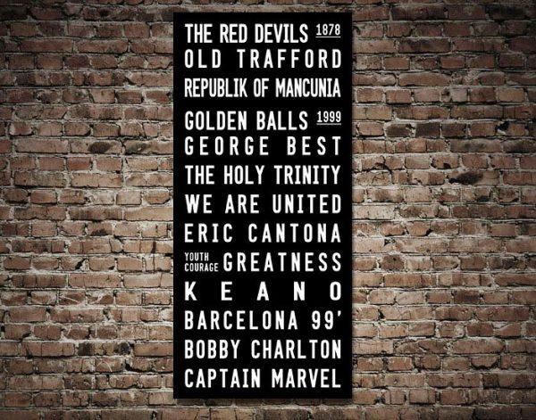 Buy English Premier Football Clubs Wall Art