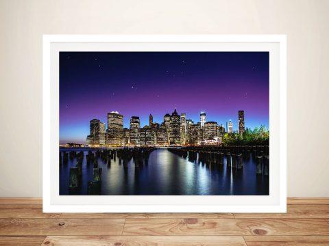 Buy Stunning City Skyline Photography Art