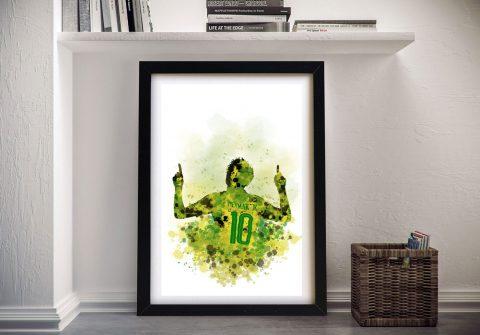 Buy Neymar Framed Wall Art for Sports Fans