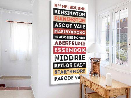 Buy a Vintage North Melbourne Tram Scroll