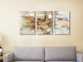 Buy Old Bridge Reminiscence Triptych Wall Art