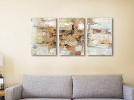 Buy Old Bridge Reminiscence Triptych Wall Art