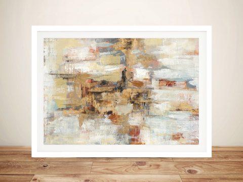 Old BridgeReminiscence Framed Abstract Art