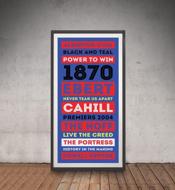 Port Melbourne AFL Artwork