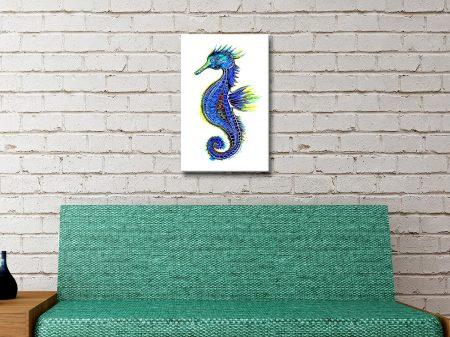 Buy a Magical Seahorse Watercolour Print