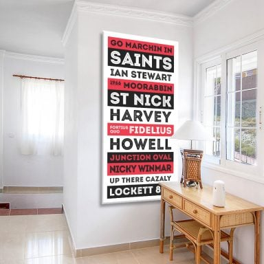 St Kilda Saints Canvas Artwork