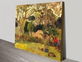 Buy a Framed Print of Gauguin's Te Raai Rahi