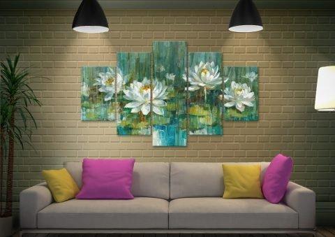 Water Lily Pond Split Diamond Gift Ideas AU