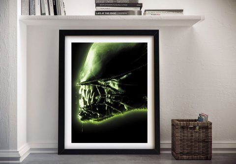 Buy a Close Up Movie Poster Print of the ALIEN