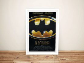 Buy a Ready to Hang Framed Batman Poster