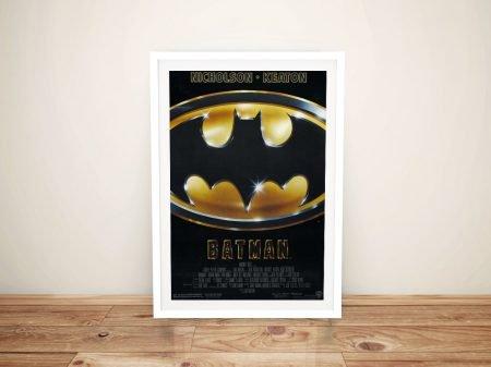Buy a Ready to Hang Framed Batman Poster