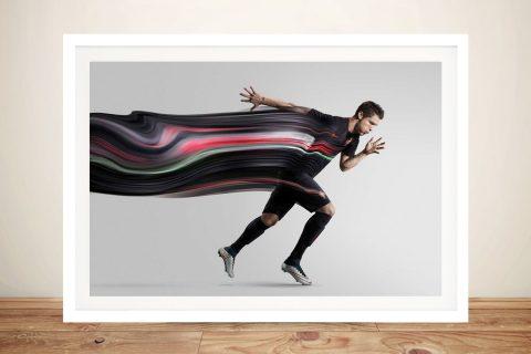 Buy Football Heroes Framed Canvas Prints