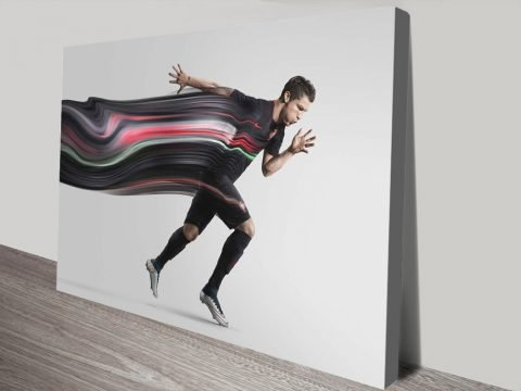 Buy a Motion Portrait of Cristiano Ronaldo