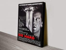Buy Die Hard Framed Movie Wall Art