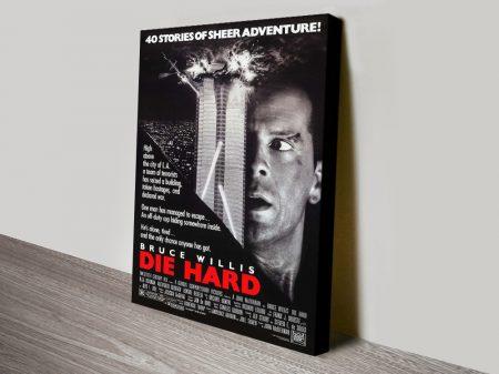 Buy Die Hard Framed Movie Wall Art