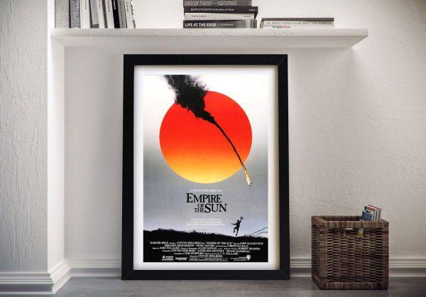 Buy Empire of the Sun Movie Advertising Art