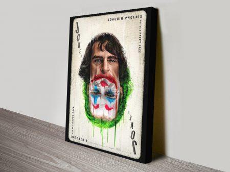 Buy Joaquin Phoenix vs the Joker Poster Wall Art