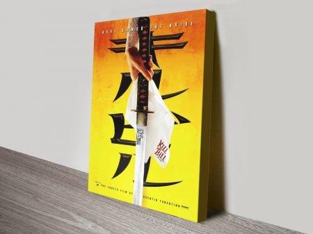Buy Cult Classic Kill Bill Movie Poster Wall Art