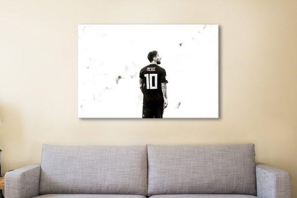 Buy Lionel Messi Football Heroes Wall Art