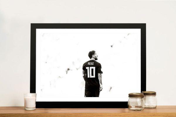 Buy Awesome Lionel Messi Portrait Prints AU