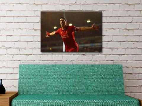 Buy Affordable Footballer Artwork Online