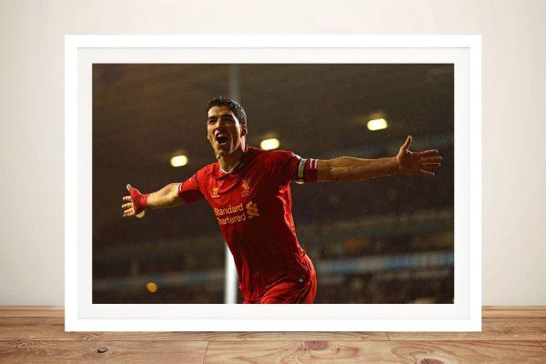 Buy a Ready to Hang Print of Luis Suarez