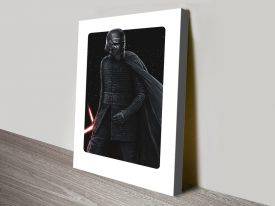 Buy a Kylo Ren Framed Canvas Poster Print