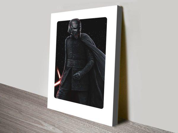 Buy a Kylo Ren Framed Canvas Poster Print