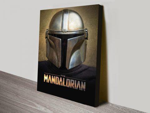 Buy a Star Wars Mandalorian Canvas Print