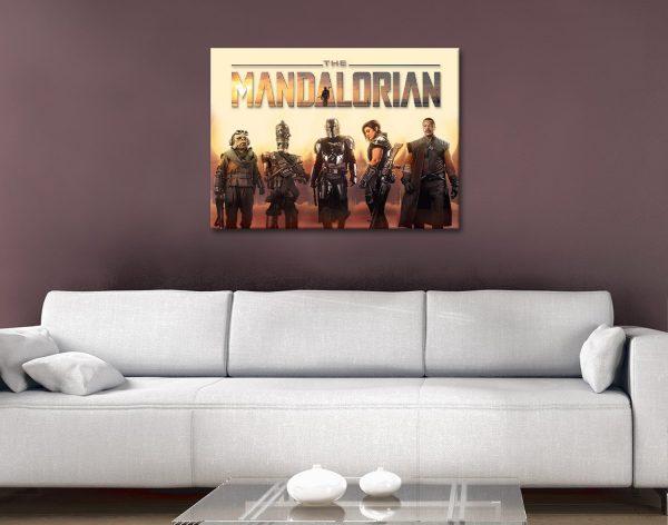 Buy The Mandalorian Framed Art Gift Ideas AU