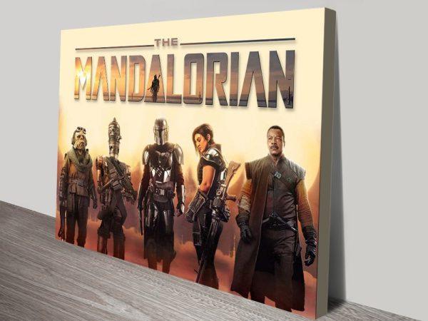 Buy a Mandalorian Advertising Poster Print