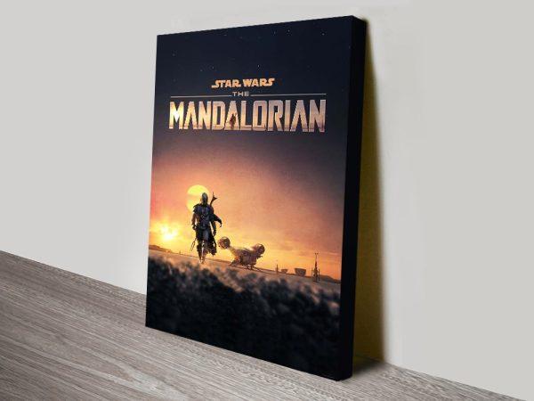 Buy Star Wars Spin-Off The Mandalorian Art