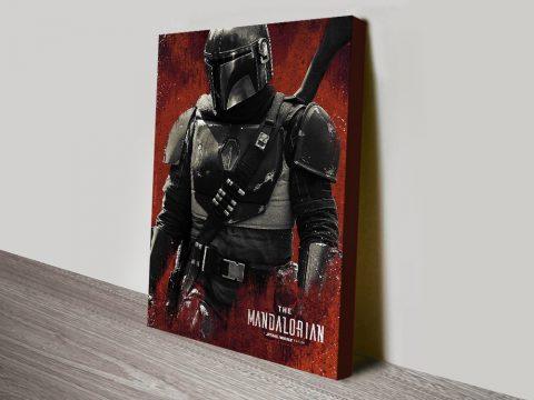 Buy Star Wars Mandalorian Framed Art