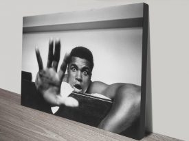Buy Muhammad Ali Framed Canvas Wall Art