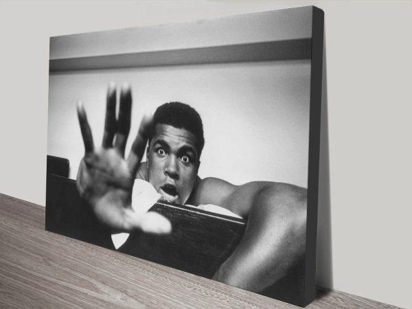 Buy Muhammad Ali Framed Canvas Wall Art