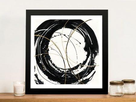 Buy Circular Web Abstract Framed Art