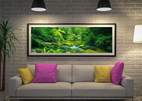 Daintree Rainforest by Peter Lik Panoramic Artwork