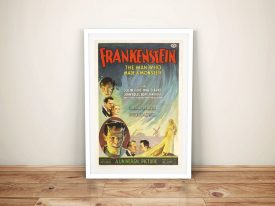 Buy a Vintage Movie Poster for Frankenstein