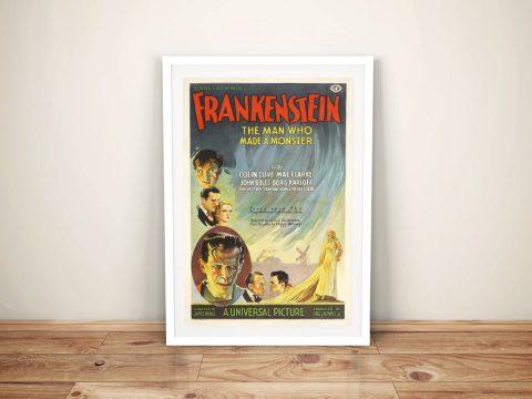 Buy a Vintage Movie Poster for Frankenstein
