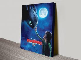 Buy a How to Train Your Dragon Movie Poster