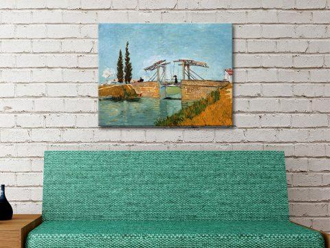 Langlois Bridge Van Gogh Canvas Artwork