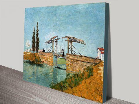 Langlois Bridge by Van Gogh canvas print